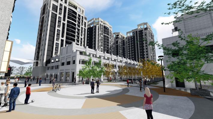 預計釋出180戶社宅 平實營區首期都更招商案簽約