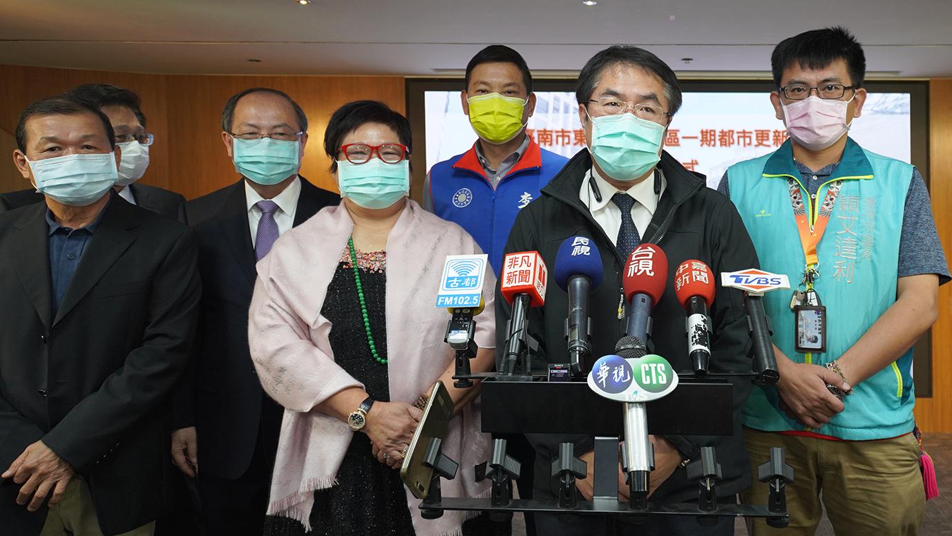 台南平實營區都更 180戶社會住宅只租不賣