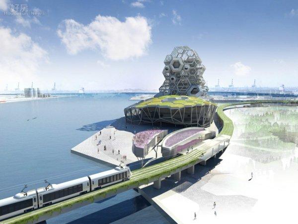光設計費就破億 亞洲新灣區將蓋41層超高住宅大樓